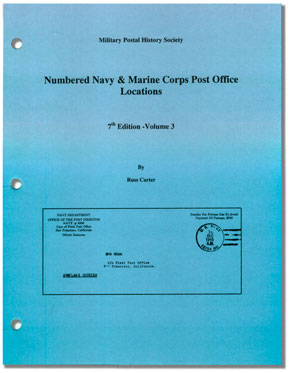 Navy and Marine Post Offices
